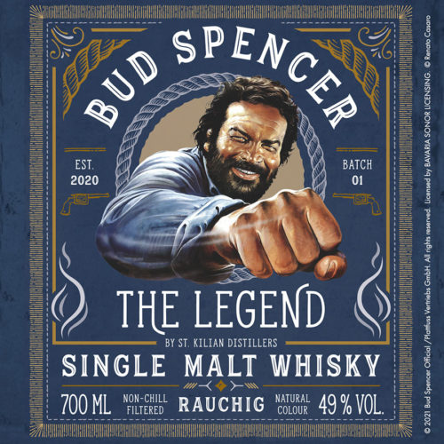 Bud Spencer Whisky Etikett